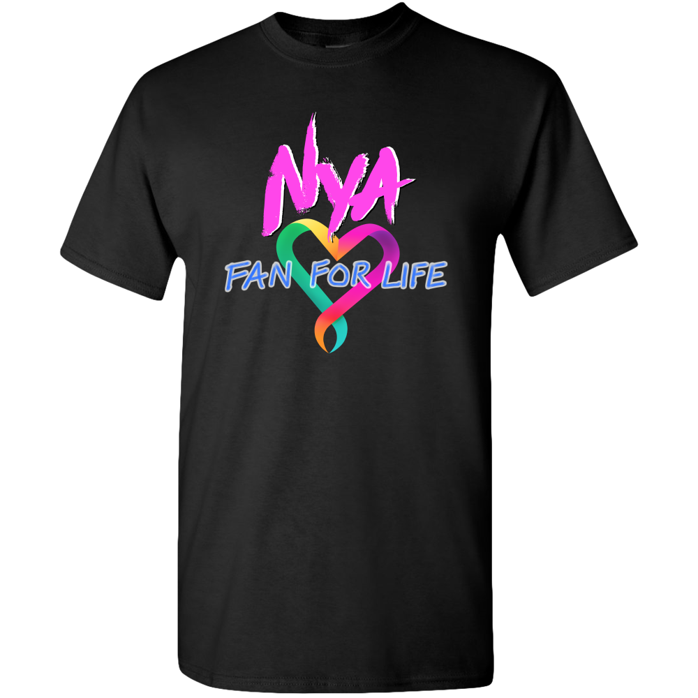 Exclusive Nya FFL Heart Logo Adult T-shirt