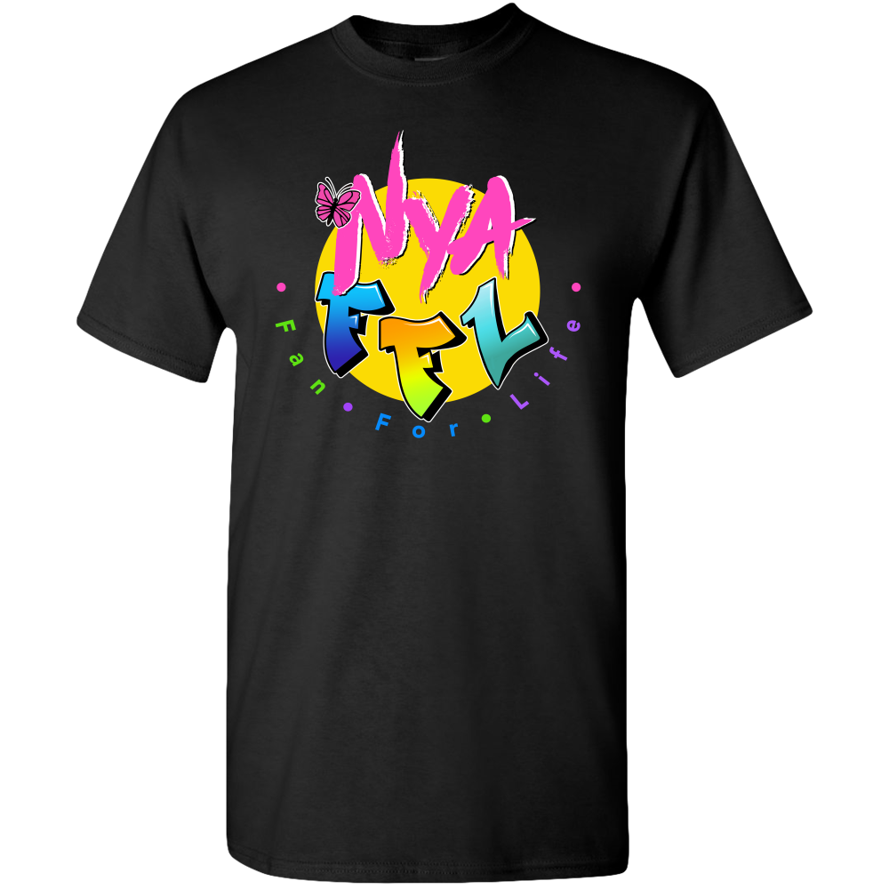 Nya Exclusive FFL Butterfly Logo Adult T-shirt