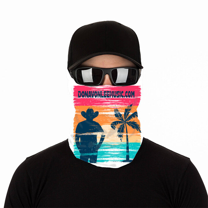 DLC Anti Microbial Neck Gaiter - Mask