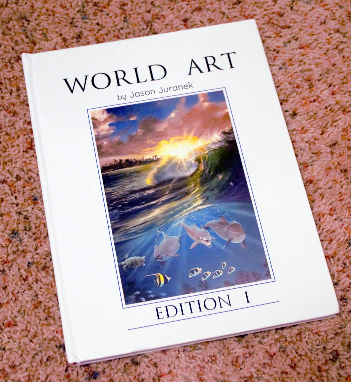"WAJJ 01 ""Art Print Book"" - SIGNED COPY - Limited First Edition - Fine Art Print book - World Art by Jason Juranek"