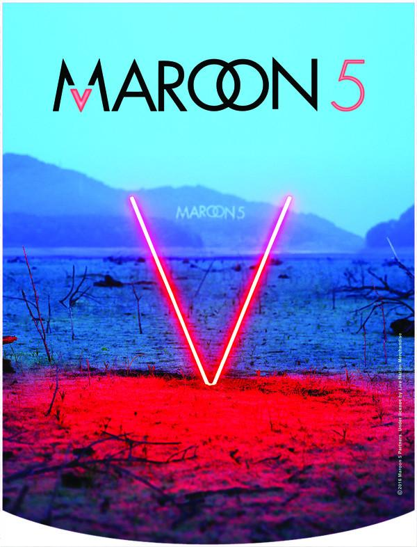 Maroon 5 V Backpack Face Panel