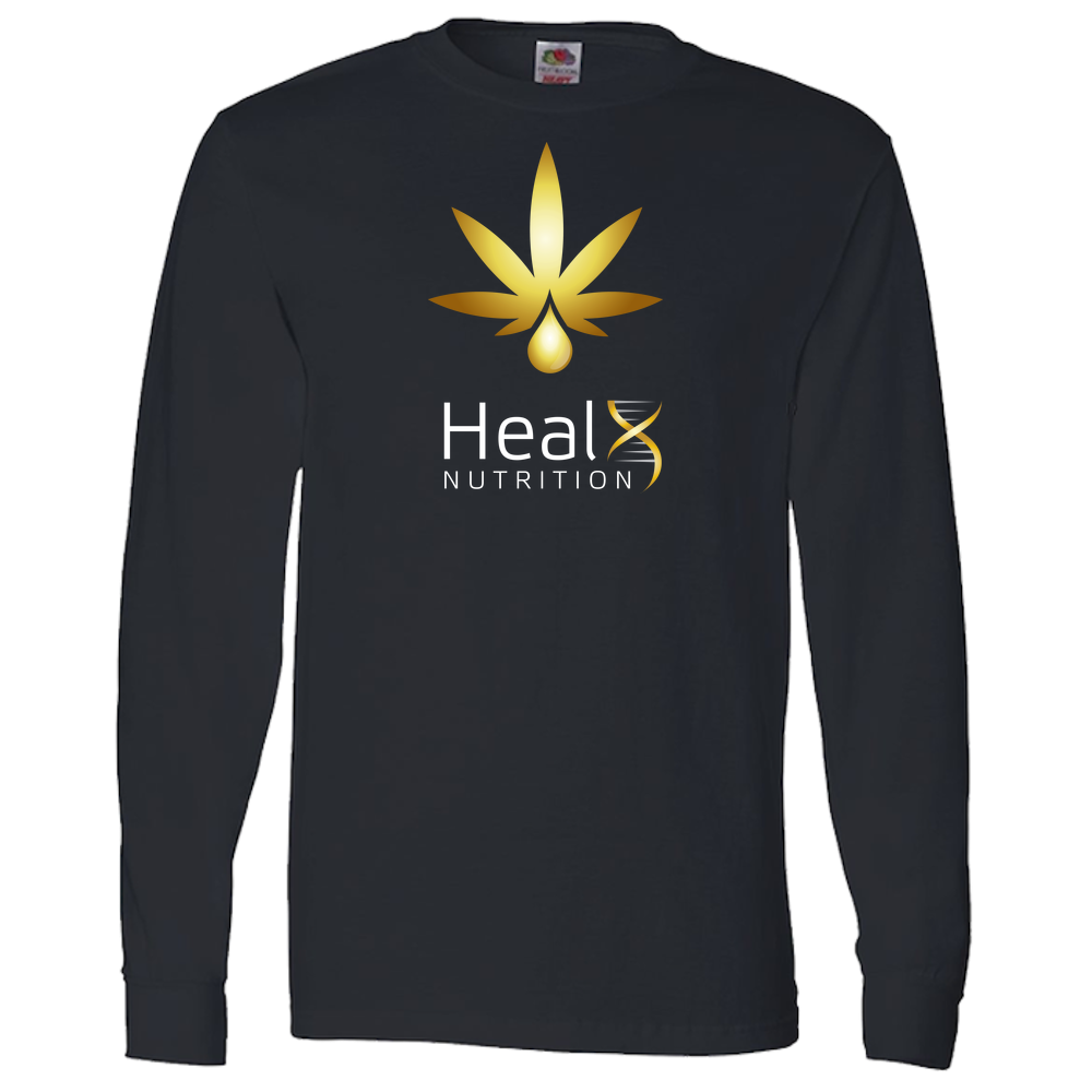 HealX Black & Gold - Adult Long Sleeve Tee