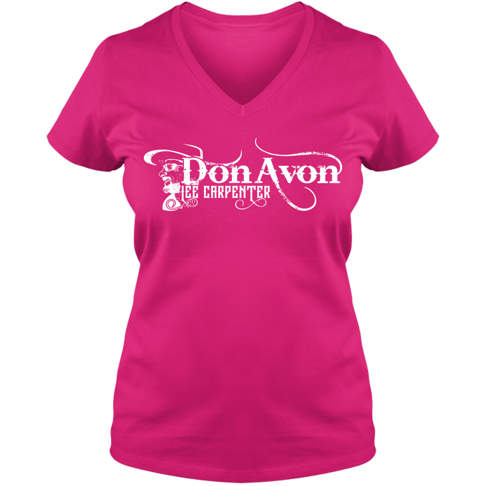 DLC - Adult Ladies V Neck Tee - Colors