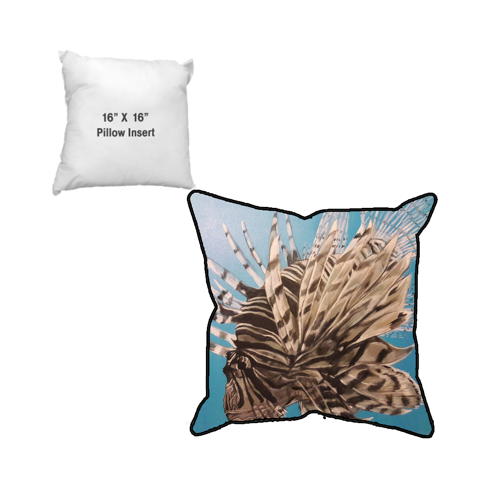 WAJ The King Sublimated Pillow Case and Pillow Insert