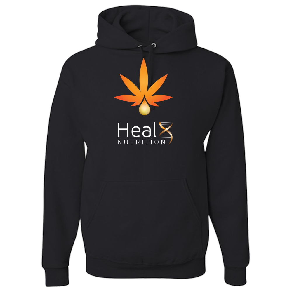HealX Black & Orange - Adult Hoodie