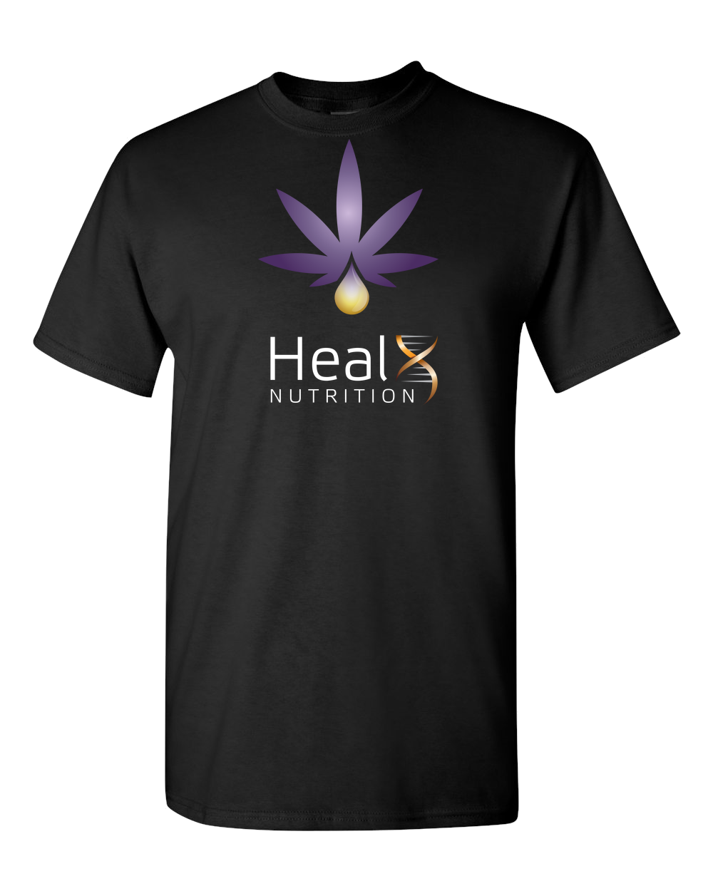 HealX Black & Purple Adult Unisex T-Shirt