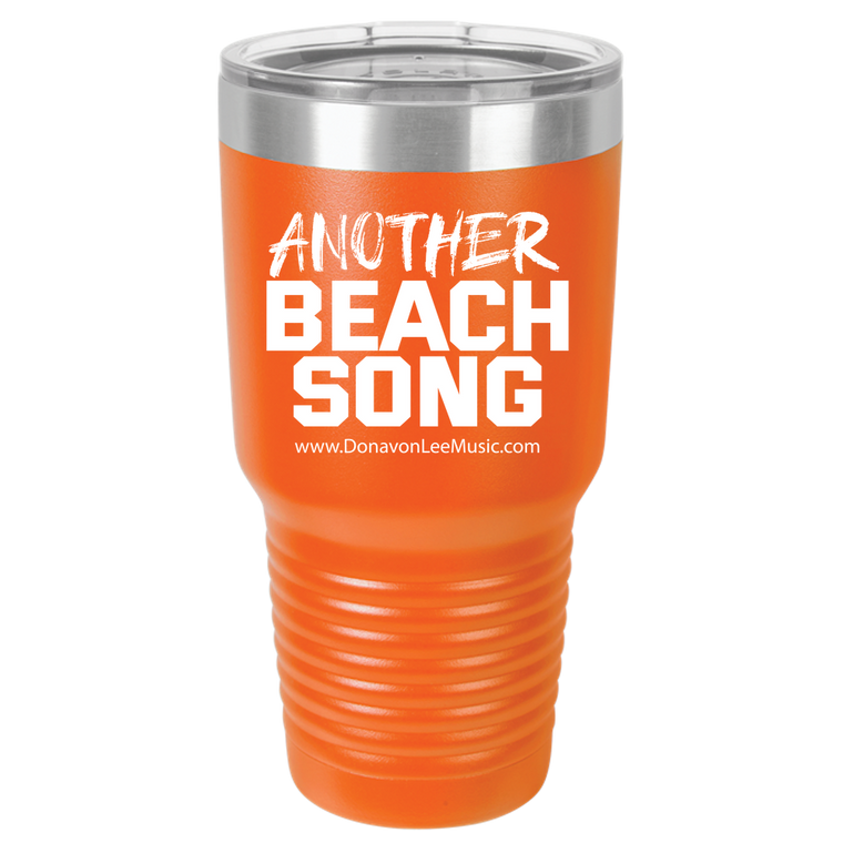 DLC - Beach Song - ABS - Polar Camel 30oz Ringneck Tumbler Laser Etched