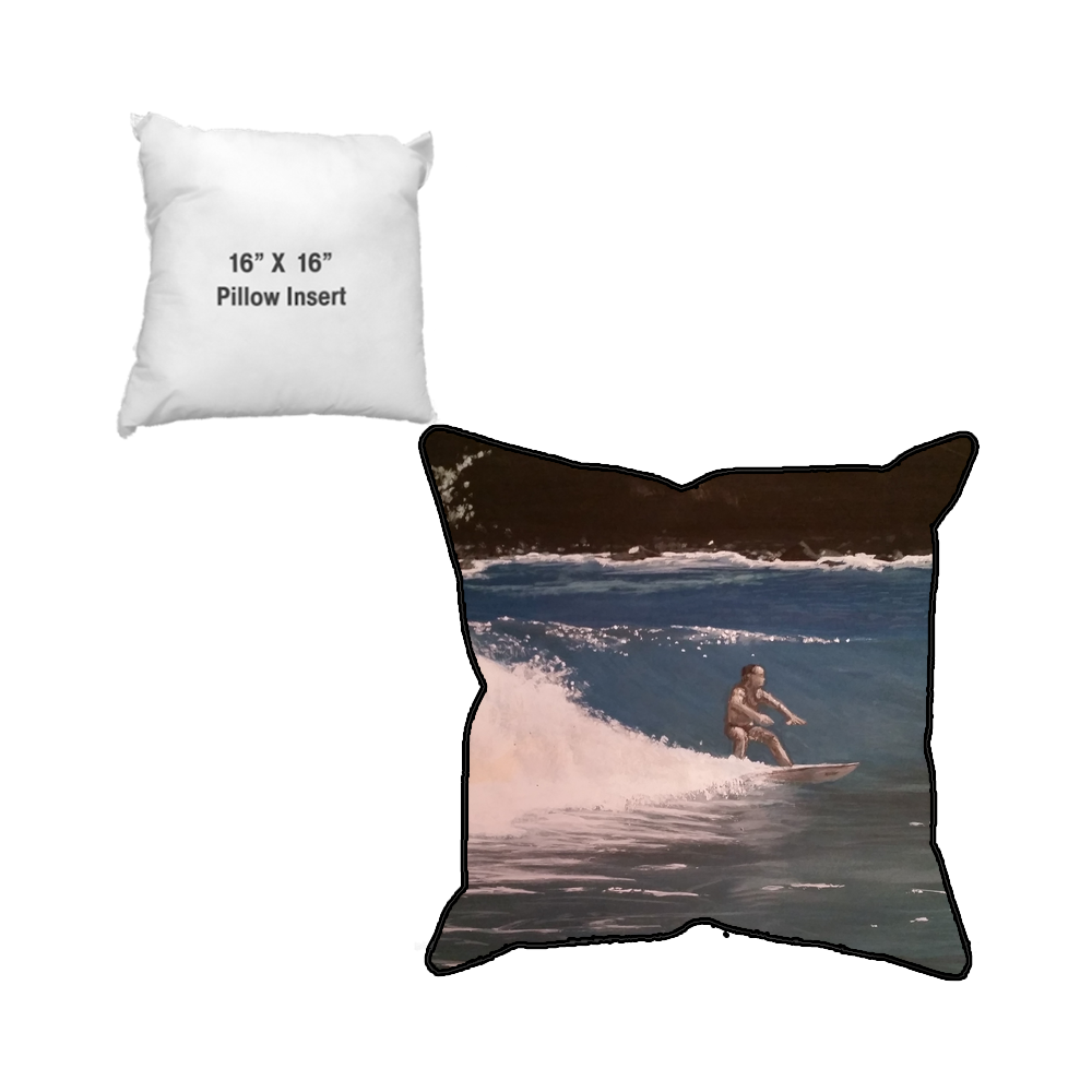 WAJ Sublimated Pillow Case and Pillow Insert