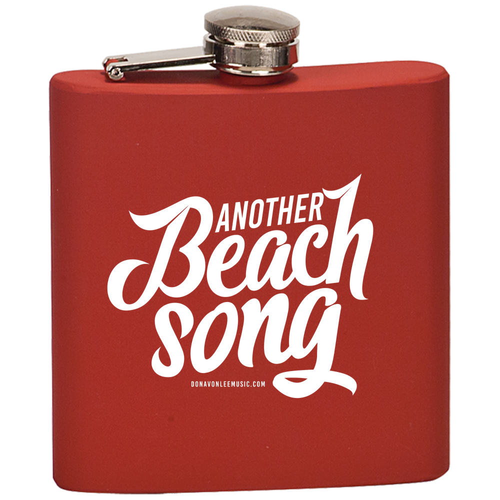 DLC - Beach Song - ABS - Flask  Laser Etched