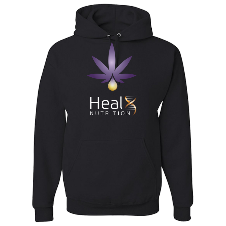 HealX Black & Purple - Adult Hoodie