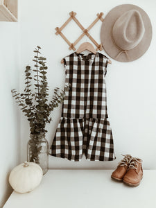 June Dress - Buffalo Plaid