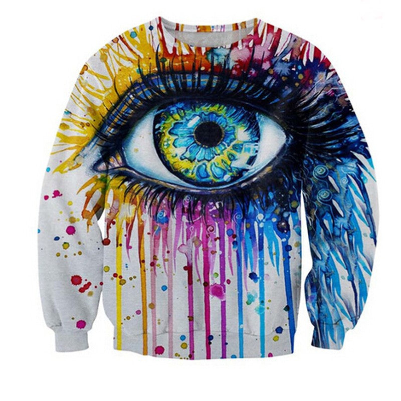 Colorfull Eyes Crewneck