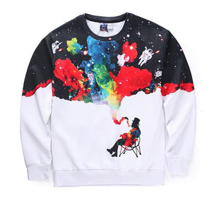 Smoking Colors Crewneck