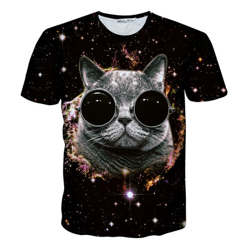 Galaxy Cat T-Shirt