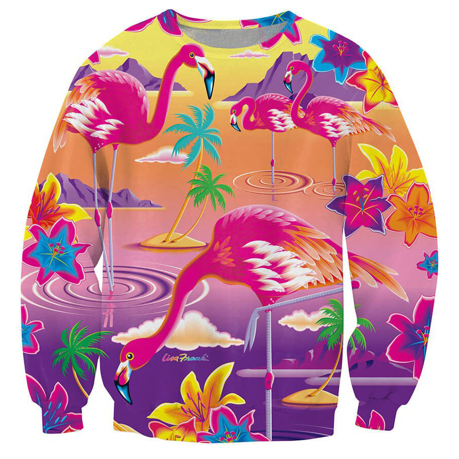 Flamingo Crewneck