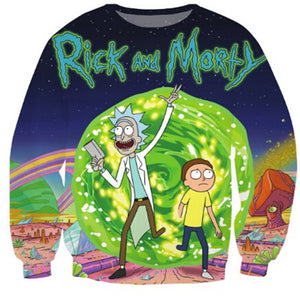 Rick and Morty Crewneck