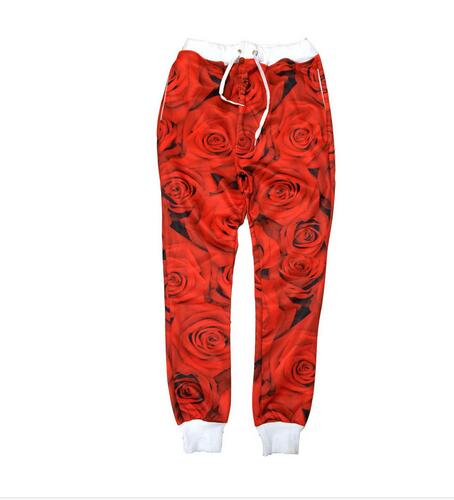 Red Rose Joggers