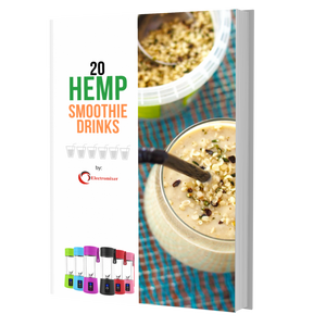 20 Hemp Smoothie Drinks Ebook