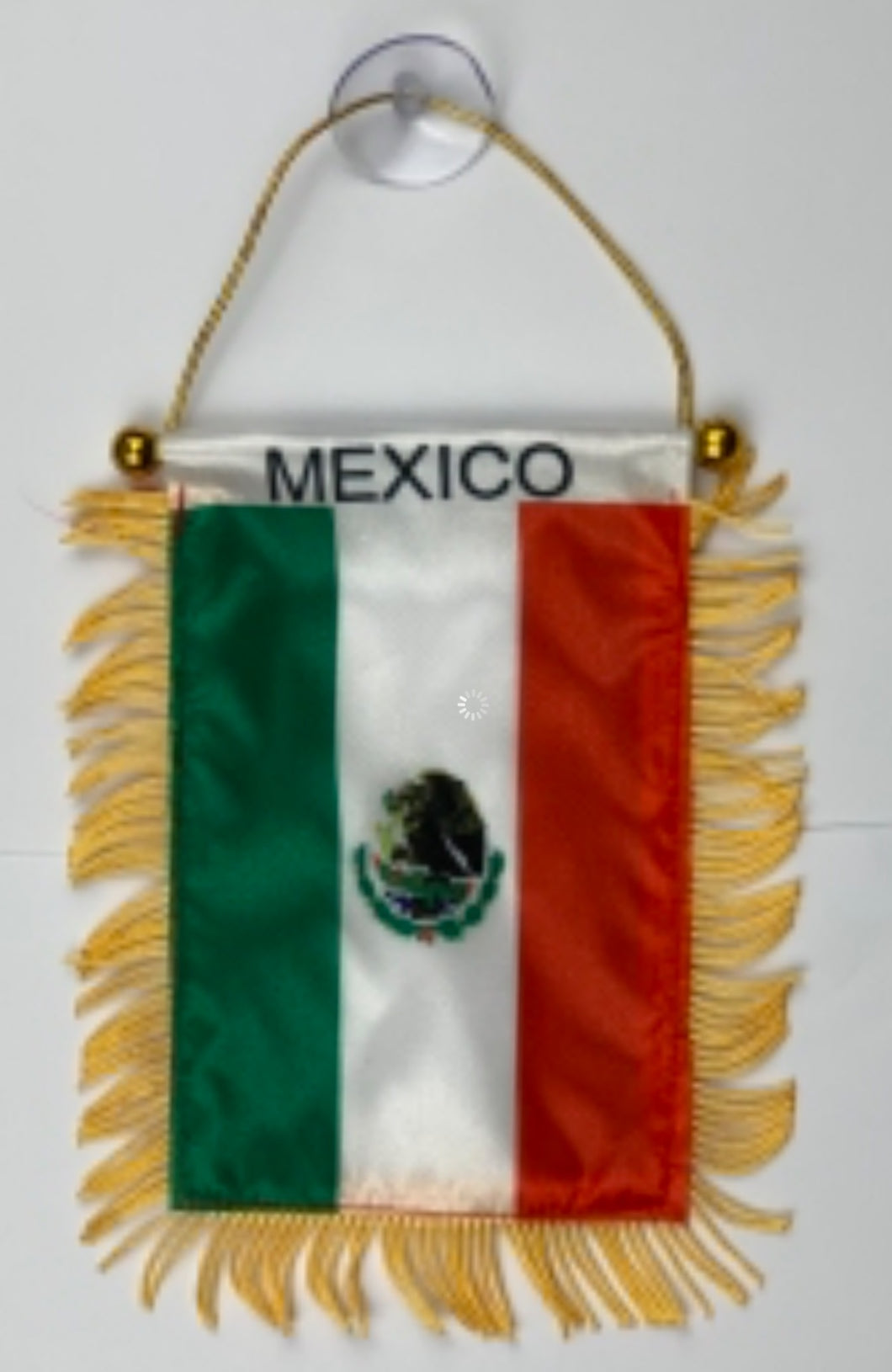 Mexico Rear View Mirror or Wall Flag Offer