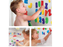 Load image into Gallery viewer, Bathtime learning 36pcs/Set Letters and Numbers 0-36 months