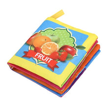 Load image into Gallery viewer, Colorful Soft Cloth Baby Book Offer
