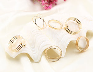 Ring Foot Ornaments 6pc/set Offer