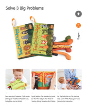 Load image into Gallery viewer, Animal Tail Cloth Books Offer