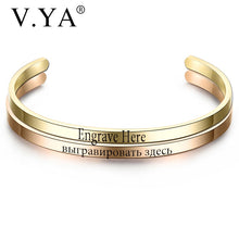 Load image into Gallery viewer, Customized Engraved Bracelet Offer