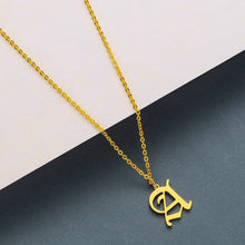 Load image into Gallery viewer, Custom Initial Pendant Necklace Offer
