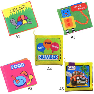 Cute Baby Soft Cloth Books Offer