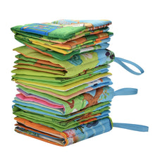 Load image into Gallery viewer, Educational Fabric Cloth Baby Book Offer