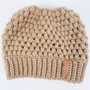 Stretchy Ponytail Beanie Hat Offer