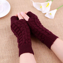 Load image into Gallery viewer, Warm Knitted Arm Fingerless Gloves Offer