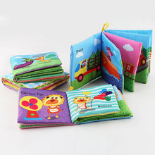 Load image into Gallery viewer, Baby Rattles Soft Animal Cloth Book Offer