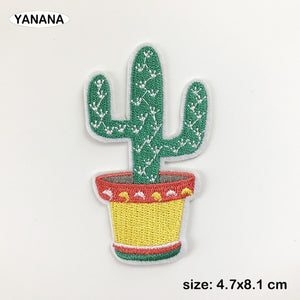 Mexican Cactus Flower Patch for Clothes Offer