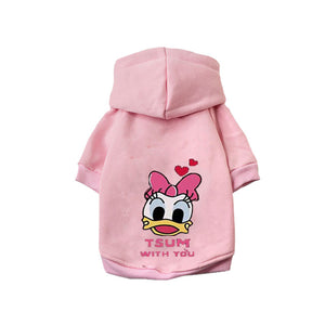 Cartoon Dog Hoodie for Winter Offer