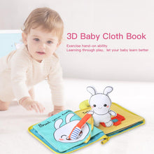 Load image into Gallery viewer, 3D Soft Cloth Baby Books Offer