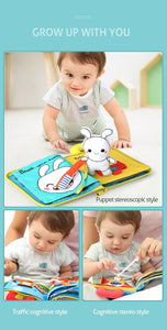 3D Soft Cloth Baby Books Offer