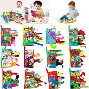 Kids 3D Animal Tails Cloth Book Offer