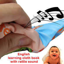 Load image into Gallery viewer, Soft Cloth Children's Book Offer