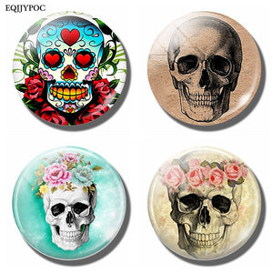 Candy Skull Fridge Magnet Offer