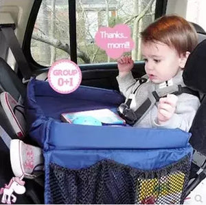 Waterproof Table Car Seat Tray