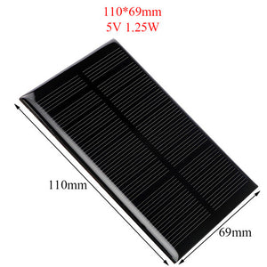 Free solar cell phone charger