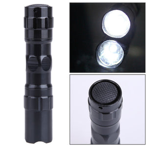 Mini Waterproof LED Zoomable Flashlight