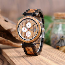 Load image into Gallery viewer, Wooden Watches Quartz Wrist watch