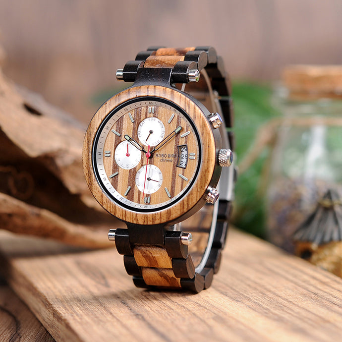 Wooden Watches Quartz Wrist watch