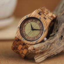 Load image into Gallery viewer, Luxury Wooden Watch