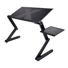 Load image into Gallery viewer, Portable Foldable Adjustable Laptop Desk Computer