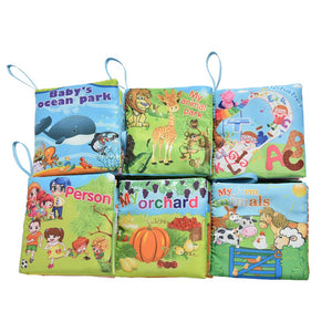 Educational Fabric Cloth Baby Book Offer