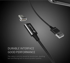 Universal Magnetic Micro USB Data Cable - Fast Charging